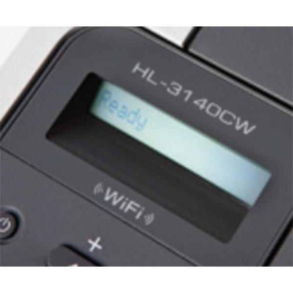 Brother HL-3140CW - Färglaser LED/Trådlös