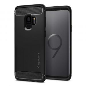 Spigen Galaxy S9 Case Rugged Armor Matte Black