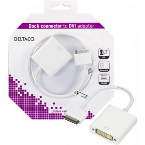 Docka iPhone 4/4S och iPad till DVI adapter.