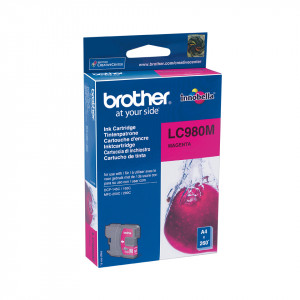 Brother LC980M Magenta (Original).