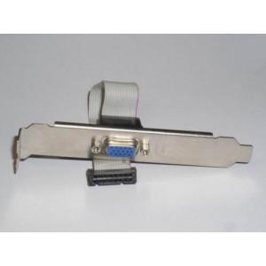 Expansionsslot bracket, VGA DB15