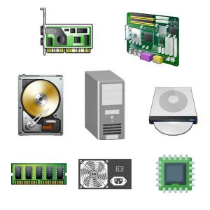 Net2World dator i delar