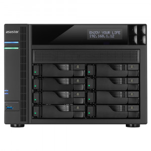 NAS Asustor AS6208T NAS 8-Bay Tower/4GB/Intel/GbEx4/HDMI