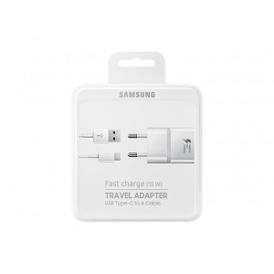 Laddare USB-C 15W Samsung Original Snabbladdare EP-TA20EWECGWW