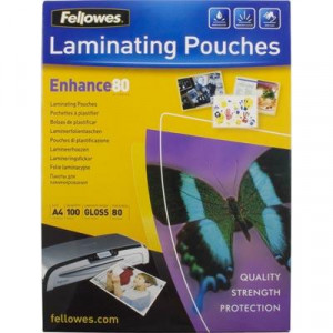 Lamineringsfickor A5 80 micron 100-pack