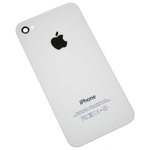 MB Bakstycke iPhone 4S vit MB-IP-BSIP4SGVIT back cover