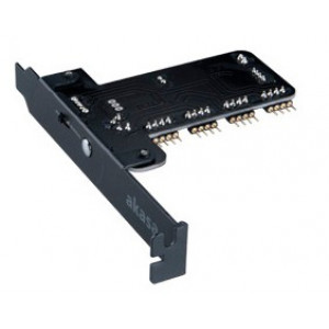 Fläktkontroller PCI Akasa Vegas RGB Kontrollerkort för styrning av fläktar och ljusslingor, 4 kanaler