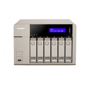 QNAP TVS-663 NAS Torn Nätverksansluten (Ethernet) Guld
