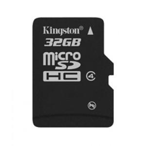 Kingston Technology 32GB microSDHC 32GB MicroSDHC flashminne