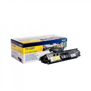 Brother TN-329Y Laser toner 6000sidor Gul lasertoners & patroner