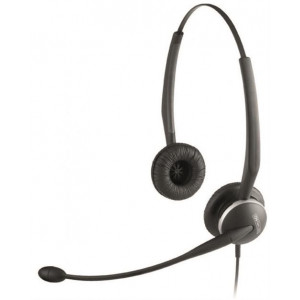 Headset Jabra GN 2100 Duo Telecoil Noise-Cancelling microphone boom