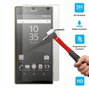 Skärmskydd i härdat glas för Sony Xperia Z5 Compact