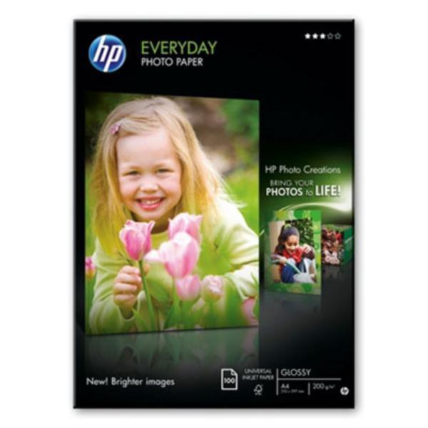 Fotopapper A4 170g Semi-Glossy - HP (100-pack) Q2510A