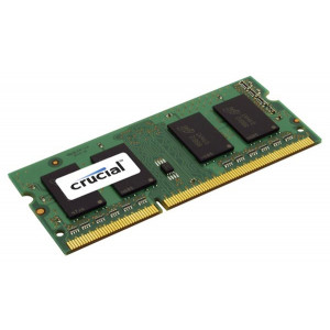 SODIMM DDR3-1066 Crucial 4GB DDR3-1066 SO-DIMM CL7 4GB DDR3 1066MHz RAM-minnen