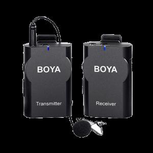 BOYA 2.4G Wireless Microphone for Camera/Smartphone BY-WM4