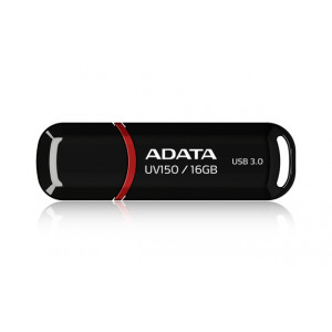 ADATA 16GB DashDrive UV150 16GB USB 3.0 (3.1 Gen 1) Type-A Svart USB-sticka