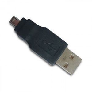 USB-adapter A - Mini B 4-pin (ha-ha)