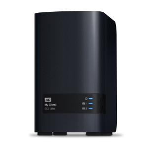 Western Digital My Cloud EX2 Ultra NAS Skrivbord Nätverksansluten (Ethernet) Svart