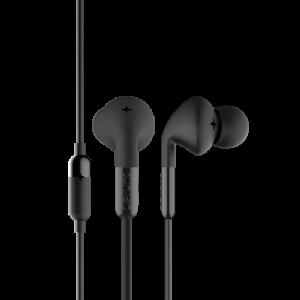 Headset - In-Ear svarsknapp mikrofon 3.5mm DeFunc