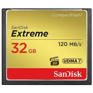 CF Sandisk Extreme CF 32GB 120MB/s, 85MB/s write