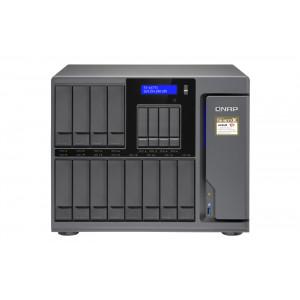 QNAP TS-1677X NAS Torn Nätverksansluten (Ethernet) Svart