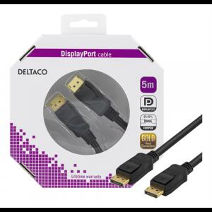 DisplayPort - DisplayPort kabel 5m GOLD