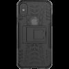 Dazzler Case till iPhone X, stötdämpande, utskärningar för värme, svart