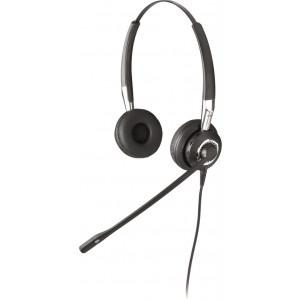 Headset Jabra BIZ 2400 Duo Binaural Svart