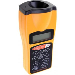Avståndsmätare laserinstrument med ultraljud