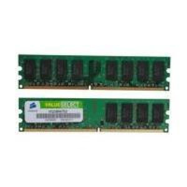 DDR2-667 4GB (2x2GB) - Corsair Value*