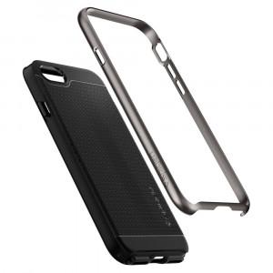 Skal Spigen iPhone 7/8 Case Neo Hybrid 2 Gunmetal