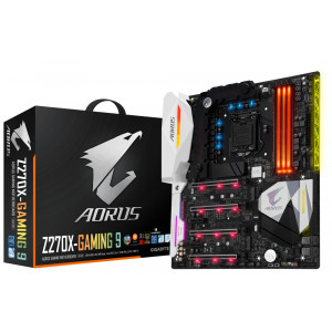 Gigabyte GA-Z270X-Gaming 9 Intel Z270 LGA 1151 (Socket H4) ATX moderkort