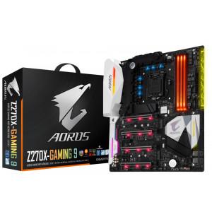 Moderkort Gigabyte GA-Z270X-Gaming 9 Intel Z270 LGA 1151 (Socket H4) ATX moderkort