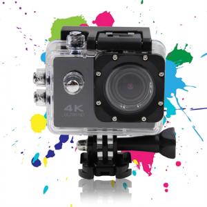 Sportkamera - Deltaco A12 Actionkamera UltraHD 4K