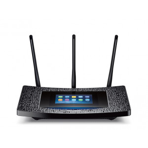 Trådlös Router - TP-Link AC1900 DualBand Touch LCD