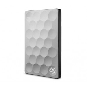 Seagate Backup Plus Ultra Slim 1TB 1000GB Platimun externa hårddiskar