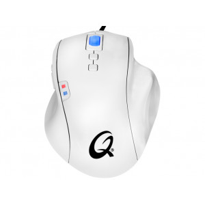 Mus - QPAD OM-75 Vit Gaming Mouse
