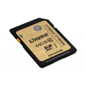 SD Card - 64GB Kingston SDXC UHS-I Ultimate 90Mb/s