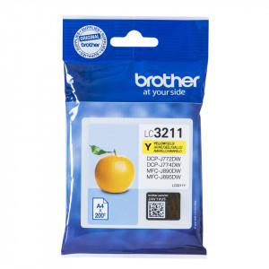 Brother LC-3211Y bläckpatroner Gul 200 sidor