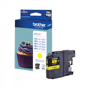 Brother LC123Y 600sid Yellow (Original)
