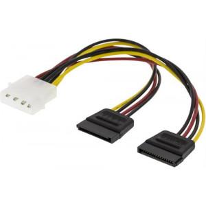 Y-strömkabel SATA