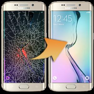 Skärmbyte Samsung Galaxy S8+ Glasreparation Skärmbyte-GLX-S8+