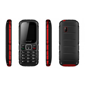 Mobiltelefon Denver GSM-telefon Dual-Sim IP54