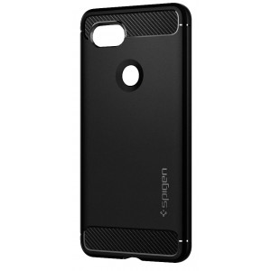 Skal Spigen Google Pixel 2 XL Case Rugged Armor Black
