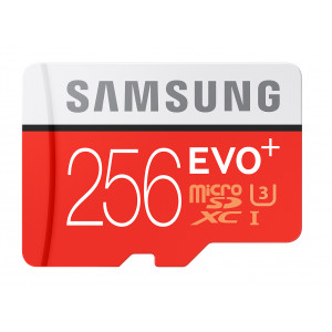 microSD Samsung EVO Plus 256GB micro SDXC