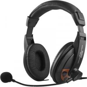 Headset - HL-56 med mikrofon och stora öronkåpor