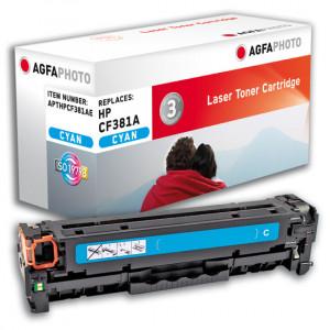 HP Toner 312A CF381A 2700 sidor Cyan