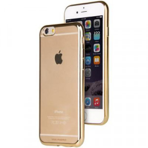 Skal - iPhone 6/6S - FlexiCurve 360Protection Guld