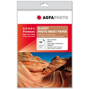 Fotopapper A4 210g Glossy InkJet 50st