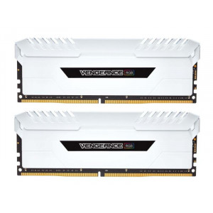 RAM Minne Corsair V RGB 16GB DDR4 White 2x288, 3000MHz